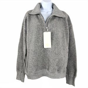 Lululemon Stand Out Sherpa 1/2 Zip Sweater Jacket